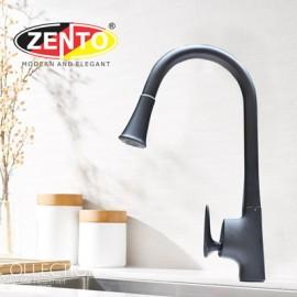 Vòi rửa bát nóng lạnh Pulldown Spray ZT5505-Black