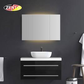 Bộ tủ, chậu, bàn đá, kệ gương lavabo ZT-LV8971