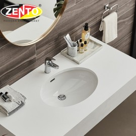 Chậu lavabo âm bàn LV904-C (540x400x180mm)(923)