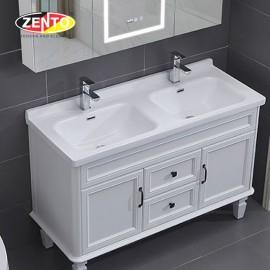 Chậu lavabo bán âm bàn đôi Zento F120