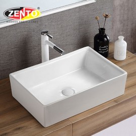 Chậu lavabo đặt bàn Zento LV6141.