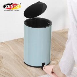 Thùng rác inox đạp chân nắp êm HC1240-Nordic Blue