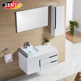 Bộ tủ, chậu, bàn đá, kệ gương Lavabo ZT-LV880