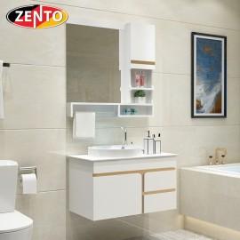 Bộ tủ, chậu, bàn đá, kệ gương Lavabo ZT-LV890