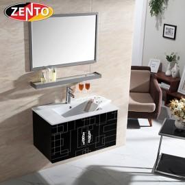 Bộ tủ chậu kệ gương Lavabo inox ZT-LV545-1E