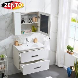 Bộ tủ, chậu kệ gương Lavabo mini ZT-LV955A (cánh Acrylic)