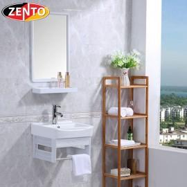 Bộ tủ, chậu, kệ gương Lavabo ZT-LV950 (Aluminum)