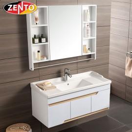 Bộ tủ, chậu, kệ gương Lavabo ZT-LV997-1