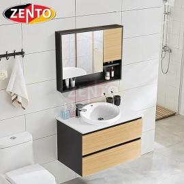 Bộ tủ, chậu, bàn đá, kệ gương Lavabo LV892-2M
