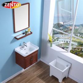 Bộ tủ, chậu, kệ gương Lavabo ZT-LV933 (Aluminum)