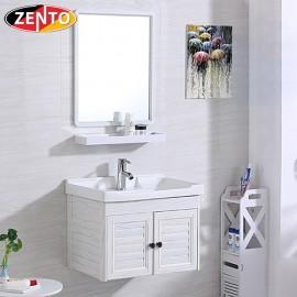 Bộ tủ, chậu, kệ gương Lavabo ZT-LV923 (Aluminum)