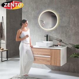 Bộ tủ, chậu, bàn đá, gương Led ZT-LV8976 (cánh Laminate vân gỗ)