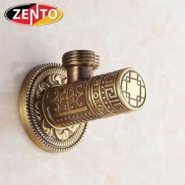 Van khóa/giảm áp lực nước giả cổ Zento ZT989