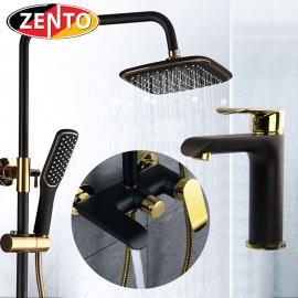 Combo sen cây & vòi lavabo Vintage B&G Zento KM105