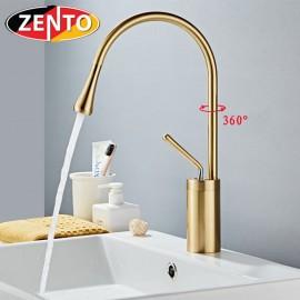 Vòi chậu Lavabo nóng lạnh Art Gold ZT2186