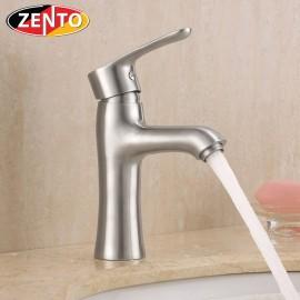 Vòi chậu lavabo nóng lạnh inox304 Zento SUS3301