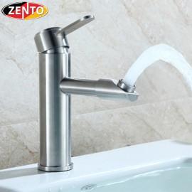 Vòi chậu lavabo nóng lạnh inox 304 SUS3311-2