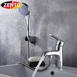 Bộ vòi chậu lavabo kết hợp sen tắm nóng lạnh Zento ZT2045