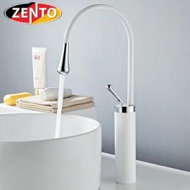 Vòi chậu Lavabo nóng lạnh dương bàn Art White ZT2195-W