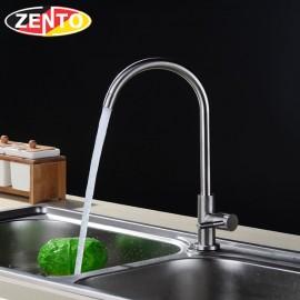 Vòi rửa bát đơn inox304 SUS4637-2 (D24mm)