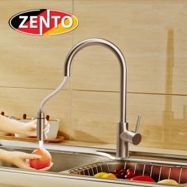 Vòi rửa bát nóng lạnh inox 304 Zento SUS5574-1 (dây rút)