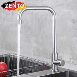 Vòi rửa bát đơn inox304 Zento SUS4632-1new