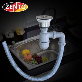 Bộ xi phông ống xả chậu rửa bát đơn XP022-1 (new)