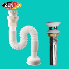 Bộ xi phông ống xả mềm Zento ZXP012