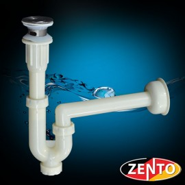 Bộ xi phông, ống xả chậu lavabo Zento XP013