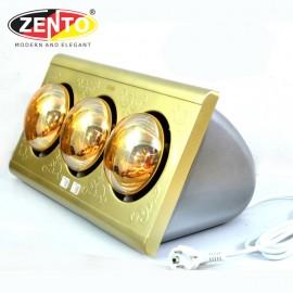 Đèn sưởi nhà tắm 3 bóng Zento ZT3-H Gold